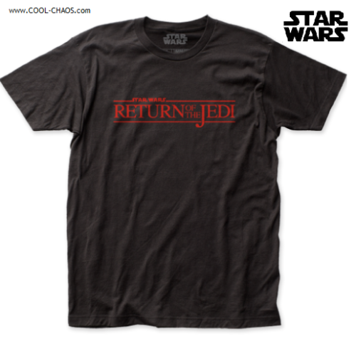 STAR WARS T-SHIRT / Star Wars RETURN OF THE JEDI Movie Throwback Tee
