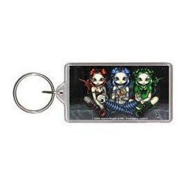 Wicked Tricksy False Keychain
