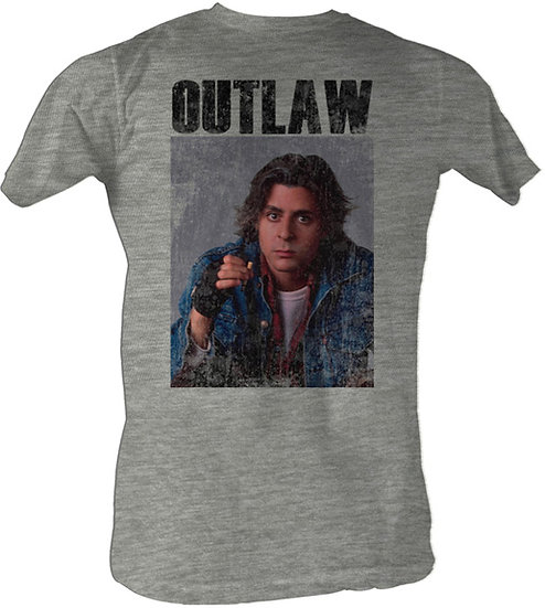 The Breakfast Club T-Shirt / John Bender 'OUTLAW' Judd Nelson Movie Tee