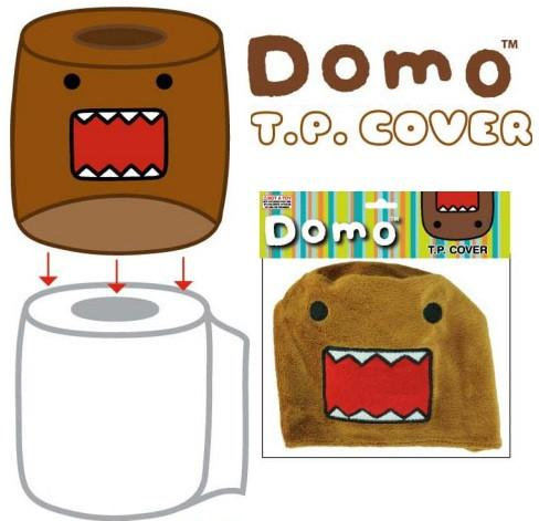 Domo-Kun TP Cover - Naked Toilet Paper Outfit