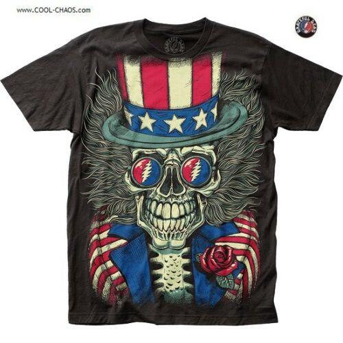 Grateful Dead Psycle Sam T-Shirt / Patritotic Grateful Dead Subway Art Tee