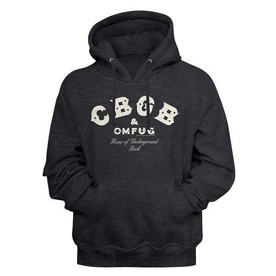 CBBG'S Hoodie / Home of Underground ROCK Hooded Sweatshirt