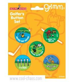 golf button set