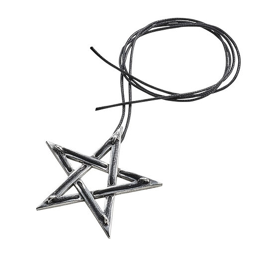 Glistercreep Pewter Spider Necklace