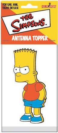 Bart Simpson Antenna Topper