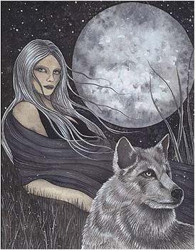 Mistress Lady Wolf Sticker