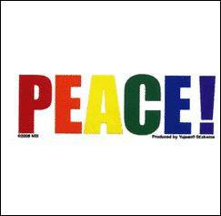 Mini Rainbow Peace Sticker