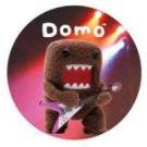 Domo-Kun Button #1 Flying V Guitar Hero Domo