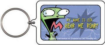 Hear me ROAR! Gir Keychain