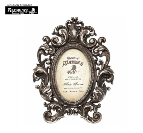 Silver Antique Style Ornate Frame by Alchemy Gothic 1977 (4 x 6 picture)