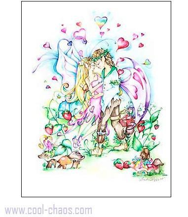 Fairy Wedding Greeting Card
