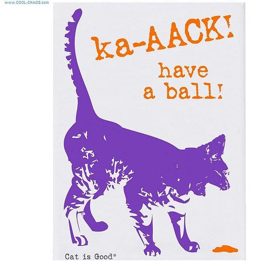 Hairball Cat Magnet