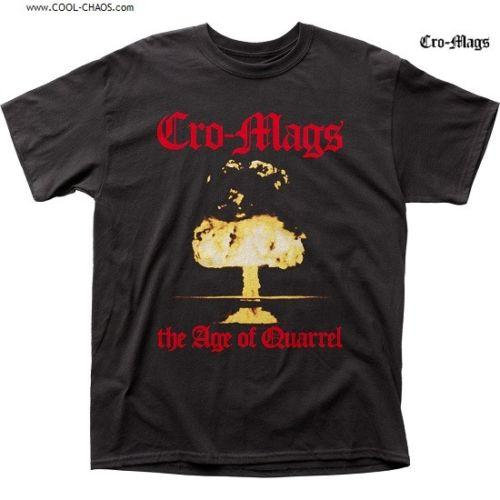 Cro-Mags T-Shirt / Cro-mags The Age of Quarrel