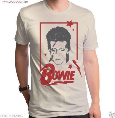 Aladdin David Bowie T-shirt / Men's New Retro Rock Tee