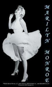 NY Subway Marilyn Monroe Sticker