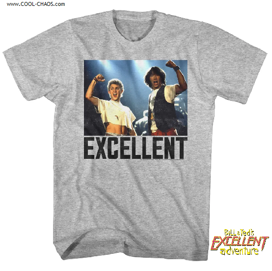 Bill & Ted's Excellent Adventure T-Shirt / Excellent Tee