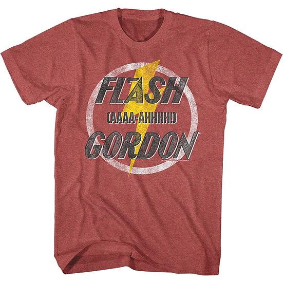 Flash Gordon T-Shirt / 80'S FLASH GORDON 'AHH AHHH' FUNNY ROCK TEE