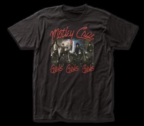 Motley Crue T-Shirt / Motley Crue Girls Girls Girls Retro Reissue Rock Tee