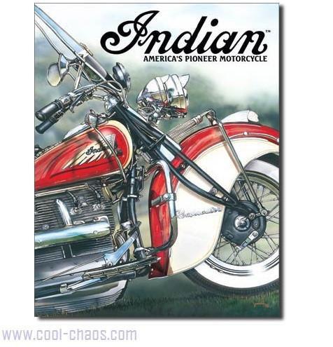 America's Pioneer Motorcycle Sign