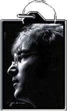 Imagine John Lennon Keychain