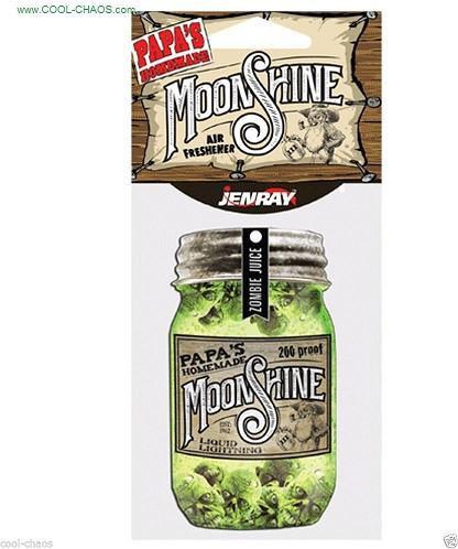Papa's Homemade Moonshine Zombie Heads Air Freshener