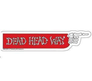 Dead Head Way Grateful Dead Bumper