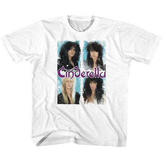 Cinderella T-Shirt / 80S THROWBACK Cinderella Rock Tee Kids Tee
