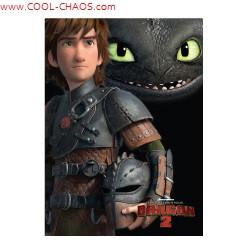 How to Train Your Dragon 2 Magnet - Hiccup+Toothless