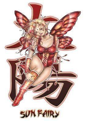 Sun Fairy Sticker