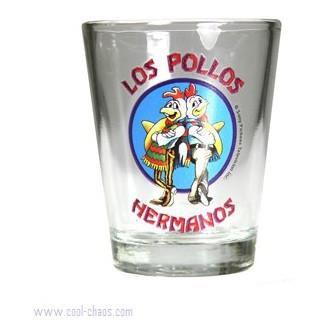 Los Pollos Hermanos Breaking Bad Shot Glass