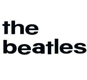 The Beatles Rub-on Sticker