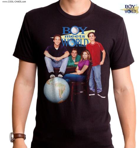 Boy Meets World T-Shirt / 90's TV Show Throwback Tee,Men's Tee