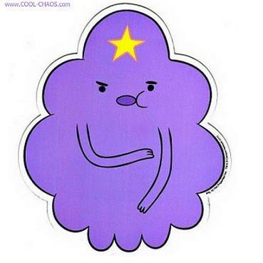 Adventure Time LSP Lumpy Space Princess Car Magnet