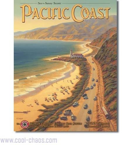 Travel Pacific Coast Sign