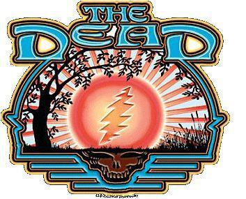 Grateful Sunrise The Grateful Dead Sticker