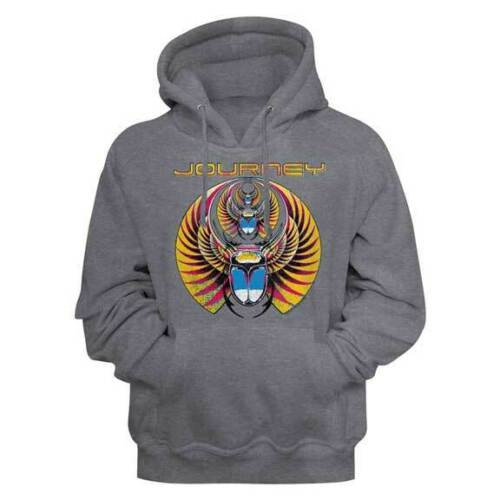 Journey Hoodie / Captured Journey 80S Rock Hooded Sweatshirt