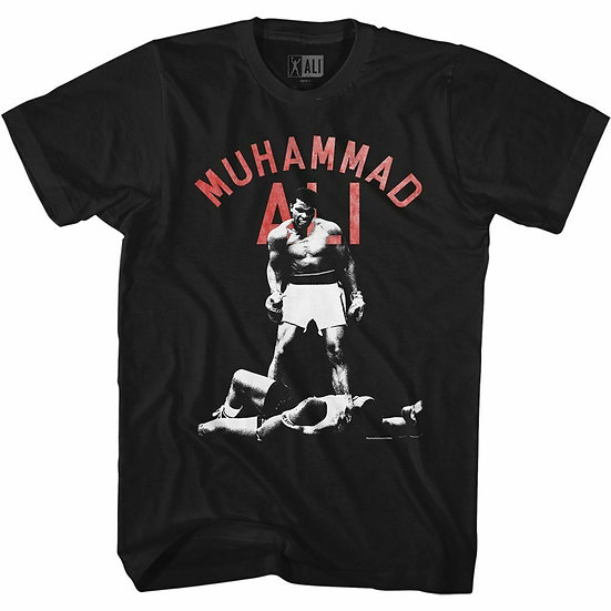 Muhammad Ali T-Shirt / BOXING 'CASSIUS CLAY' Ali Tee