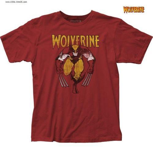 Classic Wolverine T-Shirt / Marvel Wolverine Comic Tee