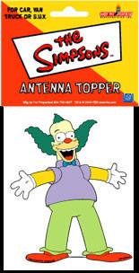 Krusty The Cllown Antenna Topper