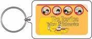 The Beatles Yellow Submarine Keychain