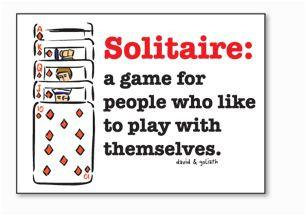 Solitaire Magnet