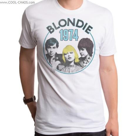 Blondie T-Shirt / Blondie 1974 Tour Tee/ Retro New Rock Tee