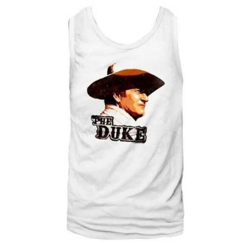 THE DUKE TANK TOP / JOHN WAYNE 'THE DUKE' LEGEND COWBOY MEN'S TANK TOP TEE