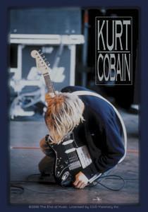 End of Music Kurt Cobain Sticker