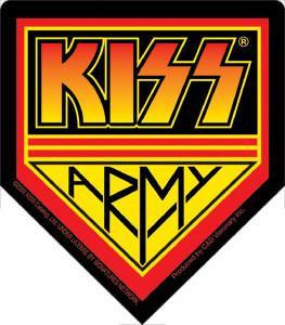 KISS Army Sticker