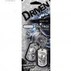 Black Out Driven Air Freshener/Skull Dog Tags