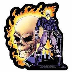 Ghost Dealer of Death Sticker