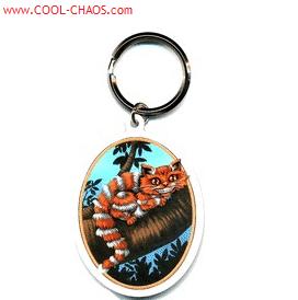 Alice in Wonderland Cheshire Cat Keychain
