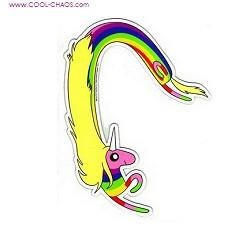 Adventure Time Lady Rainicorn Sticker