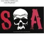 SOA Sons of Anarchy Skull Sticker